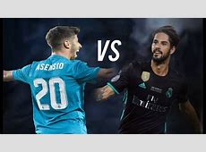 Isco vs Asensio 201718 Real Madrid Midfield HD