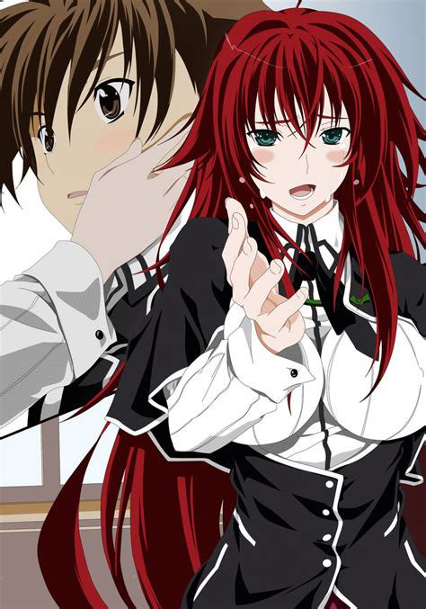 Issei Hyoudou And Rias Gremory By Maximilian Destroyer On