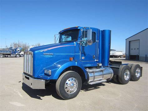 trucksales kenworth 2012 kenworth t800 day cab semi truck for sale 259 000