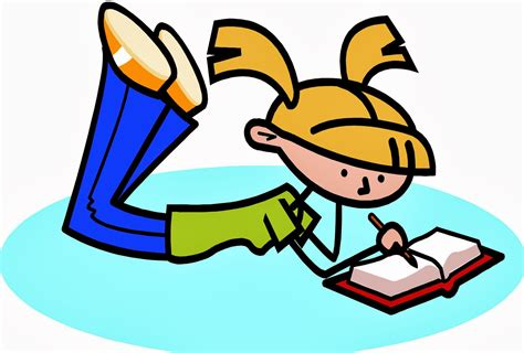 Pix For Cartoon Person Reading