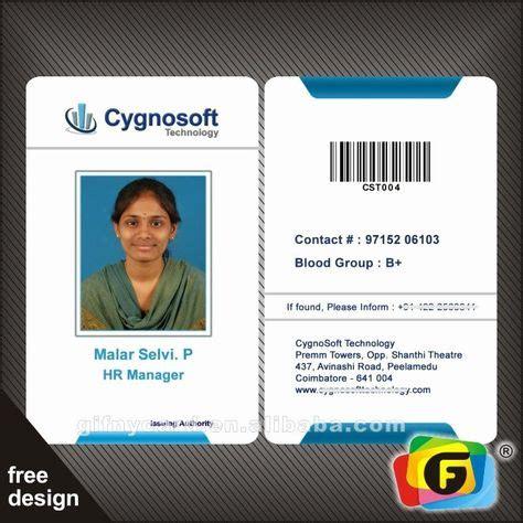 sample identity card luxury  samples pany staff