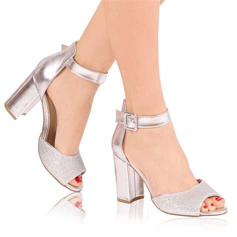 Sandale Dama Siena Argintii - IuliaShop