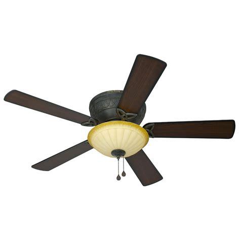 lowes ceiling fans with lights shop harbor breeze asheville 52 in burnished bronze flush
