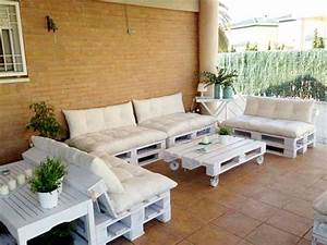 faire un salon de jardin en palette deco cool With salon de jardin pour terrasse