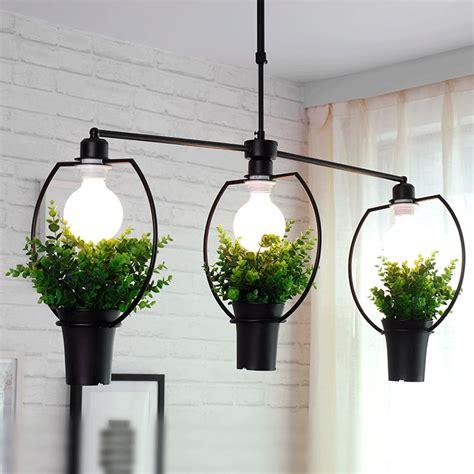 hanging lights for living room modern pendant light living room restaurant plant decor
