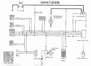150 Go Cart Parts Wiring Diagram