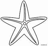Starfish Coloring Pages Printable Drawing Cool2bkids Star Sea Ocean Surfboard Animals Clip Printables Getdrawings Preschool Clipartmag Super Getcolorings Popular sketch template