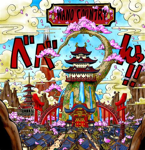 It is very popular to decorate the background of mac, windows, desktop or android device beautifully. Wallpaper One Piece Wano Arc - Bakaninime