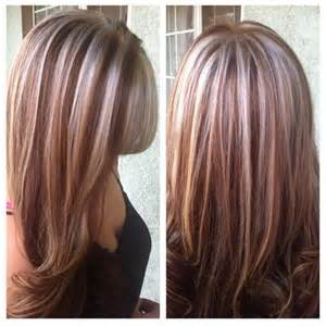 Red Hair with Platinum Highlights