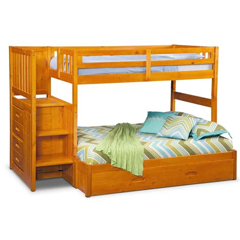 bunk bed ranger bunk bed with storage stairs