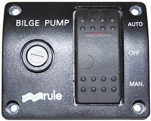 Pump Control Rocker Switch Rule 3 Way 12v