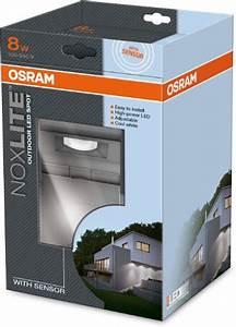 Osram Led Bewegungsmelder : osram noxlite spot led au enlampe mit bewegungsmelder und d mmerungssensor k hlk rper aus ~ Orissabook.com Haus und Dekorationen