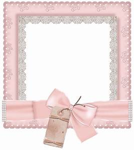Cute Pink Transparent Photo Frame | Imágenes cuadros ...