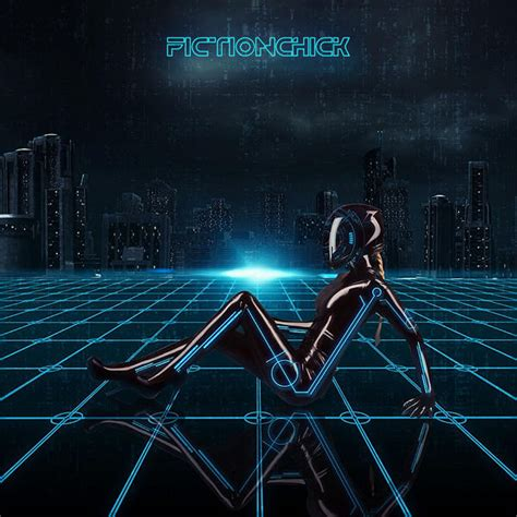 TRON Inspired by FictionChick on DeviantArt