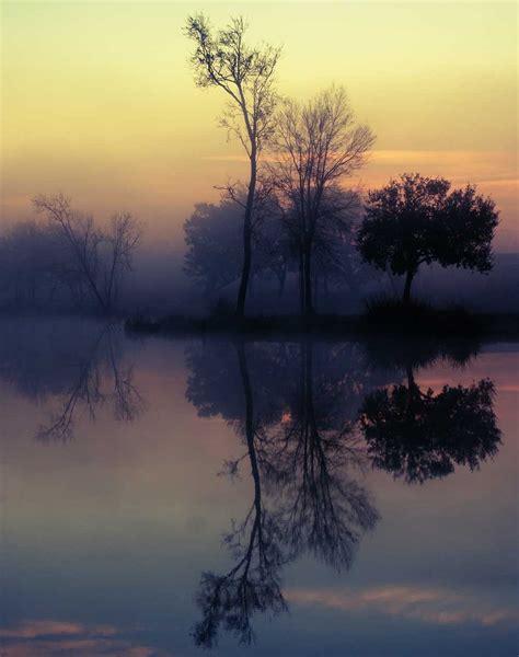 foggy lake sunrise nature lost kat photography