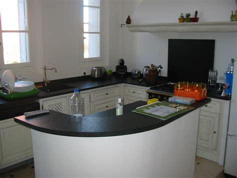 plan de travail cuisine en marbre cuisine marbre et bois