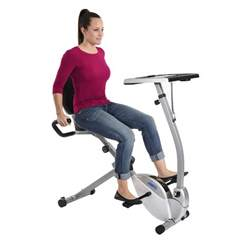 stamina 2 in 1 recumbent exercise bike workstation and standing desk stamina products
