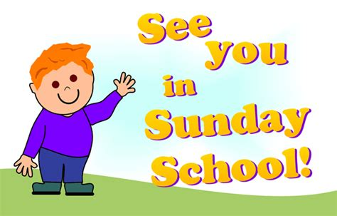 Sunday School Rally Day Clipart  Clipart Suggest