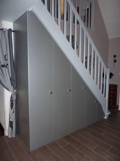 amenagement de placards sous escaliers les creations de