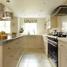 Cream Shaker Kitchen With Quartz Work Surface  Kitchen