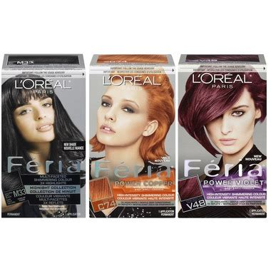 feria hair color reviews buy l oreal feria hair color at well ca free shipping
