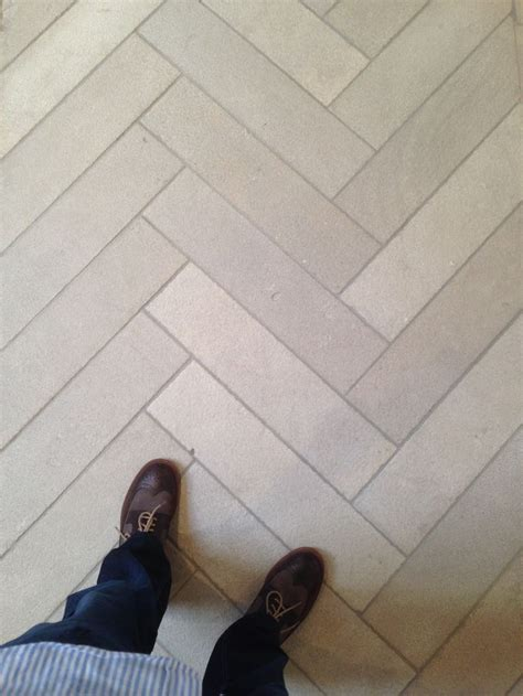 4x16 subway tile herringbone 17 best images about chevron patterned floors and walls on