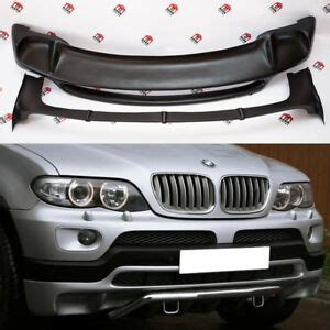 bmw x5 e53 4 8is style bodykit front rear spoiler 2003 2006 ebay