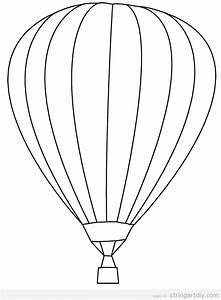 hot air balloon free and pritnable template projects to With hotairschematic