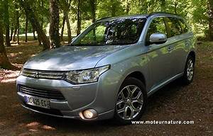 4x4 Hybride Rechargeable : mitsubishi outlander phev hybride rechargeable essai d taill ~ Gottalentnigeria.com Avis de Voitures