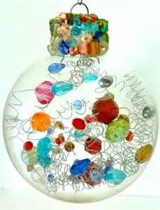 75 ways to fill clear glass ornaments ornaments refunk my junk