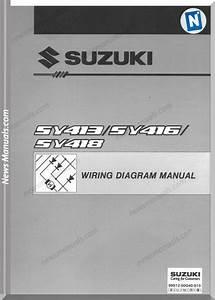 Suzuki Manual De Diagramas De Partes Electricas Esteem