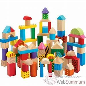 Cube En Bois Bébé : jeux construction bois dans jouets en bois sur jouets prestige ~ Dallasstarsshop.com Idées de Décoration