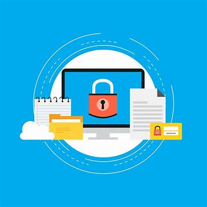 Privacy Vector Data Secured Security Icon Protection