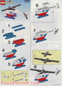 Lego 1607 Helicopter Set Parts Inventory And Instructions