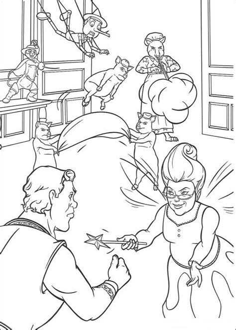kids  funcom  coloring pages  shrek