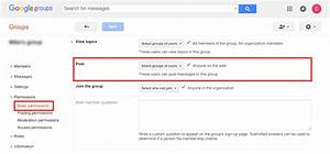 Groupmanager permissions — group manager is an implementation of