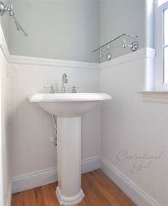 Installing beadboard wallpaper for Bead board in bathroom