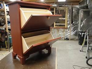 Shoe Cabinet - by Luis M @ LumberJocks com ~ woodworking