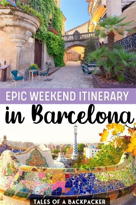 Barcelona 2 Day Itinerary: How to Spend 2 Days in ...