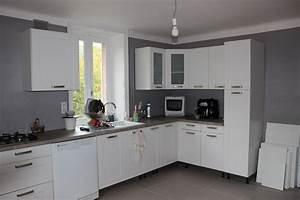 Couleur Cuisine Moderne : cuisine taupe quelle couleur pour les murs avec cuisine ~ Melissatoandfro.com Idées de Décoration