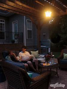 Solar Gazebo Lights Outdoor Solar Chandelier For Your Pergola Easy Diy