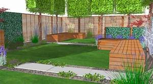 Grüner Sichtschutz Garten : architektur des patios ~ Markanthonyermac.com Haus und Dekorationen