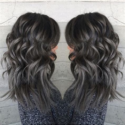 Charcoal Hair Dye by Pewter And Charcoal Hair Color By Janii Hartt Silver Hair