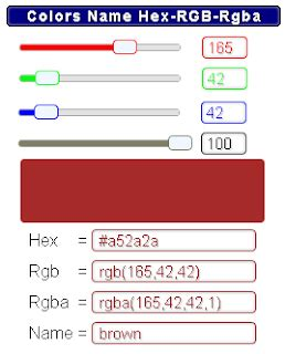 hex color chooser ymabyts color chooser calculator rgb rgba to hex gadget