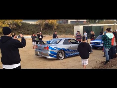 nissan skyline 2002 paul walker loading paul walker s nissan skyline r34 gt r youtube