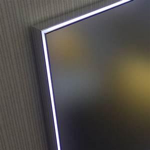 Miroir lumineux LED salle de bain éclairage LED, anti buée, 120x70 cm