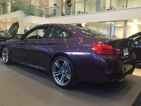 Bmw M4 In Daytona Violet Individual Color