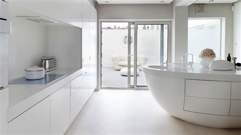 White Interior Design : Pure White Interior Design Ideas