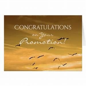 Congratulations On Your Promotion Greeting Cards | Zazzle