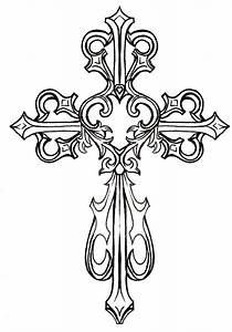 Cross Tattoo Clip Art